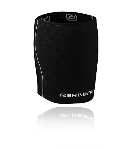 Rehband QD Thigh Support Bandage de cuisse Noir 3 mm Taille M
