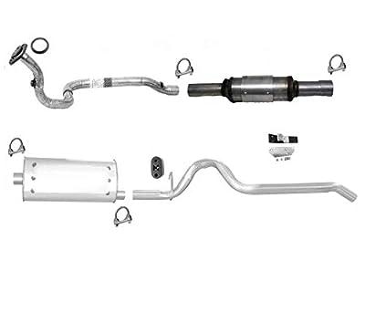 96 to 01/20/00 Cherokee Engine Pipe Converter & Exhaust Pipe System Muffler USA