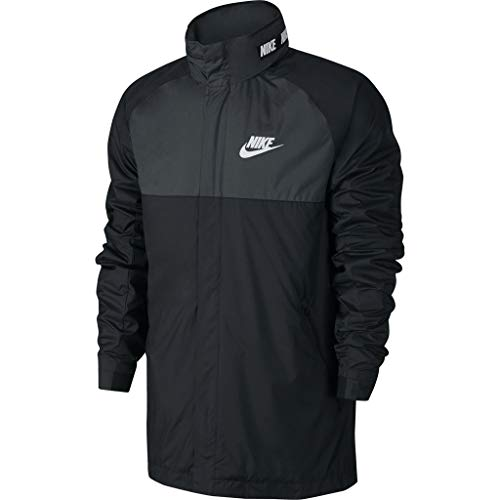 NIKE Cortavientos Sportswear Advance 15 Negro/Gris/Blanco Talla: S...