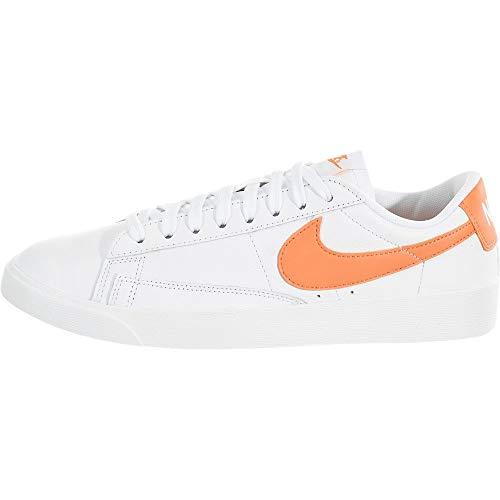 Nike Damen W Blazer Low Le Basketballschuhe, Mehrfarbig (White/Fuel Orange/White 103), 36 EU