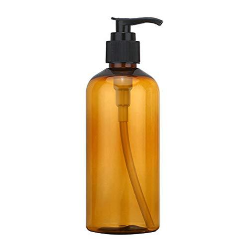 happyhouse 009 Flacon vide de 100/200/300 ml pour lotion, gel douche, lotion, cosmétique, distributeur de savon transparent 200 ml