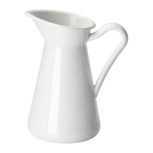 ★ソッケルエールト / SOCKERART 花瓶 / ホワイト 16cm[イケア]IKEA(10191631)