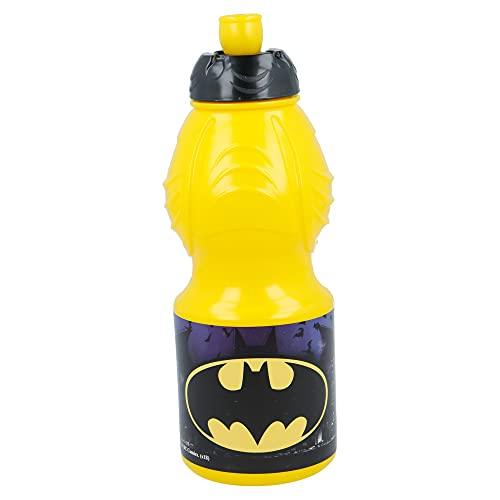 BATMAN  Bottiglia d'acqua per bambini con chiusura anti-perdite   Borraccia riutilizzable per...