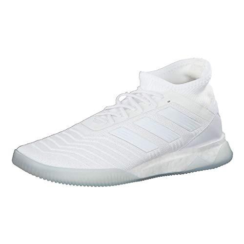 Adidas Predator 19.1 TR, Botas de fútbol para Hombre, Multicolor (Ftwbla/Ftwbla/Fooblu 000), 42 2/3 EU