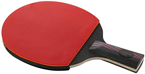 Kit Ping Pong Portátil para Interiores Exteriores Raqueta de tenis de tabla de tenis profesional Paddle Formación área de la competencia Tabla raqueta de tenis inversa de goma 15x24cm 15x26cm Duplex p