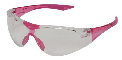 Great Deal! Champion Traps and Targets Shooting Glasses Youth Clear Glasses - Pink Temples(Ballistic...