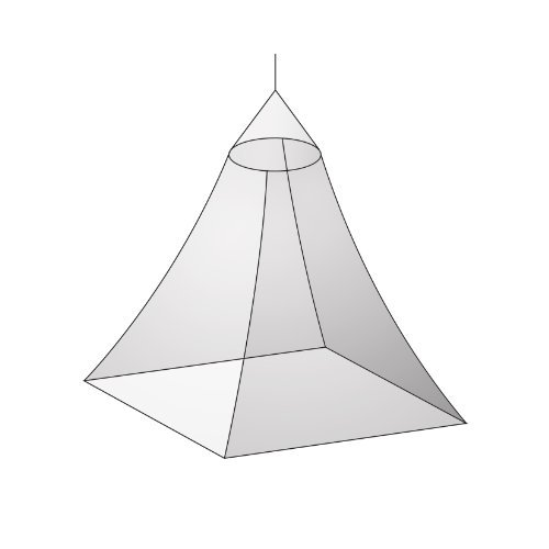 Basic Nature Mosquito Net Canopy Mesh 850by Basic Nature