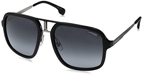 Carrera 1004/S 9O TI7 Gafas de sol, Negro (RUTBK MTTBLK/DARK GREY SF), 57 Unisex-Adulto