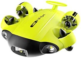 QYSEA FIFISH V6 Underwater Drone ROV with 4K UHD Camera VR Headset Dive to 330ft 166 FOV 4000lm product image