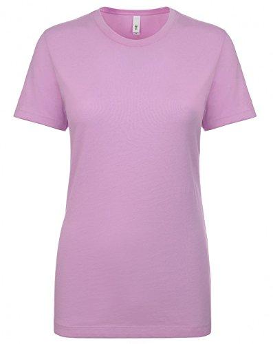 Next Level NL1510 Women's Ideal Crew Short Sleeve T-Shirt Lilac M