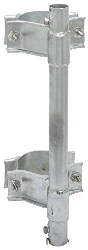 マスプロ電工 住宅用鋼管引込小柱用マスト取付金具 SKPM32