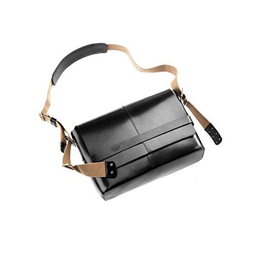 Brooks Umhängetasche Barbican Leather Bag 13 Liter, schwarz, 8001000