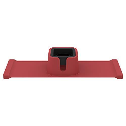 YOPU Posavasos para sofá, organizador de reposabrazos, de silicona, plegable, aislamiento térmico, bandeja perezosa, adecuada para varias tazas