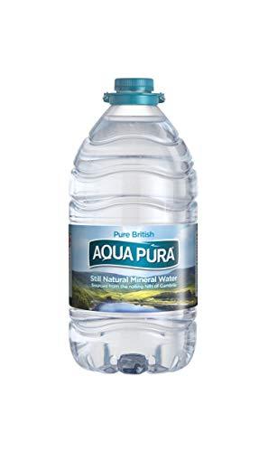 Aqua Pura, Pack Still Natural Mineral Water,5 Litre, (Pack of 3)