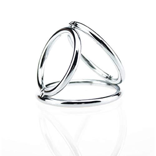 Ejercicio de anillo de metal para hombres durante mucho tiempo
