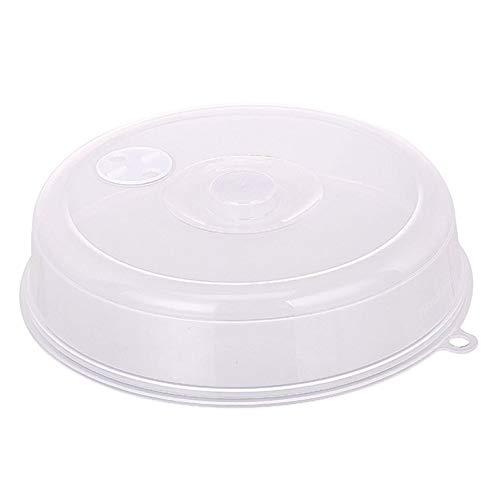 Tapa de la tapa de la placa de microondas con orificios de vapor Tapa de la cuba de mantenimiento fresca Tapa de salpicadura apilable de microondas Tapa de disco de sellado
