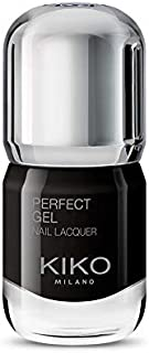 KIKO Milano Perfect Gel Nail Lacquer 15 Black, 10 ml