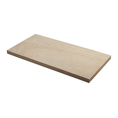 Rayher 62868505 MDF Regalboden furniert, für Rayher Pin und Peg, 20 x 10 x 0,9 cm