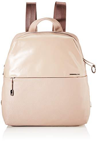 Mandarina Duck Damen Athena Backpack Rucksack, Pink (Stucco), 30x36x11 centimeters