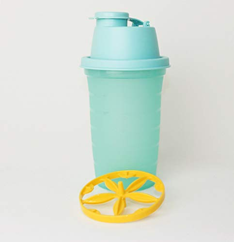 TUPPERWARE TW Shaker Shaky Backen Mix-Fix 1x 250ml Türkis Shake-It Messbecher - Mixbecher Shaky + Ausstechform rot klein