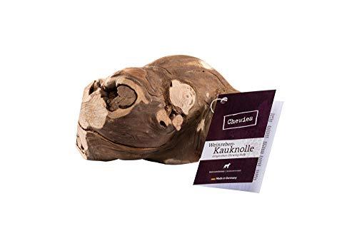 Chewies Kauwurzel für Hunde aus Weinreben - Kauspielzeug für Ihren Hund - natürlich, nachhaltig, mineralstoffreich - Kauholz ohne Schadstoffe (geprüft) - Größe L/XL