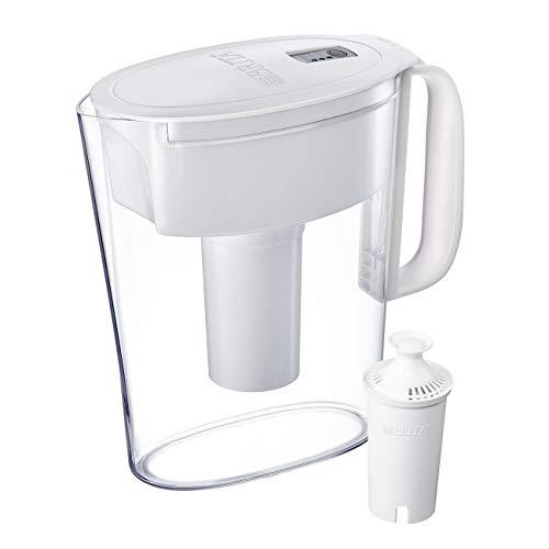 Brita Metro jarra de agua con filtro avanzado capacidad 5 tazas, Blanco, 1