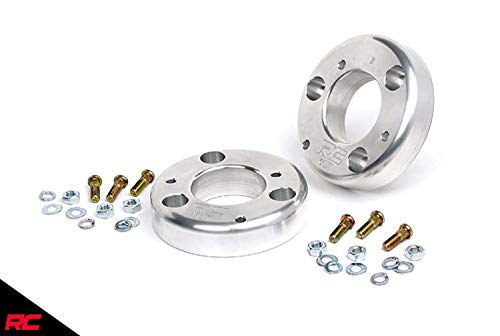 Rough Country 2' Leveling Kit (fits) 2009-2013 F150   Billet Aluminum   Suspension System   568