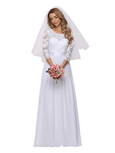 Ww Mary's Bridal Import Off the Shoulder Heavily Beaded Neckline Wedding Dress With Train