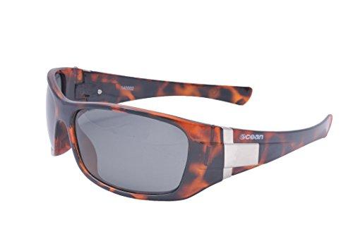 Ocean Sunglasses - Wave - lunettes de soleil polarisées - Monture : Noir Mat - Verres : Fumée (14220.0)