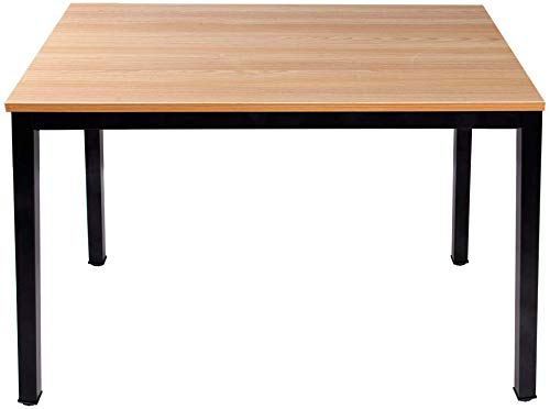 Need Kitchen Dining Table 100 x 60 cm Computer Table Compact Table, Teak Oak AC3BB-100