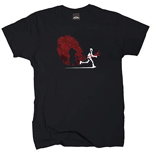 Wolkenbruch T-Shirt Unknown Identity, Schwarz, L