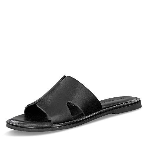 Tamaris Damen 1-1-27135-26 Pantoletten, Slipper, schwarz, 39 EU