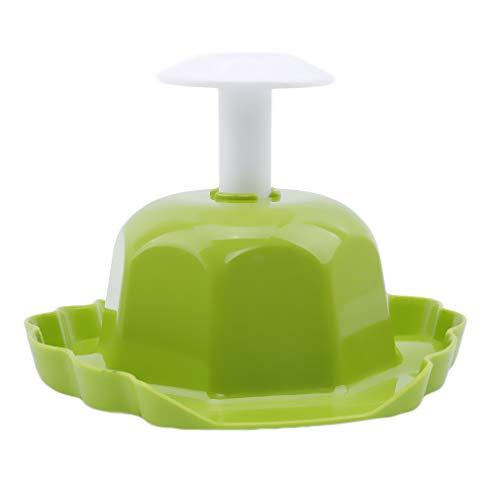 Eleusine Gemüsehobel Handsicherheitsschutz Halter Fingers Chutz Küche Zubehör (Grün)