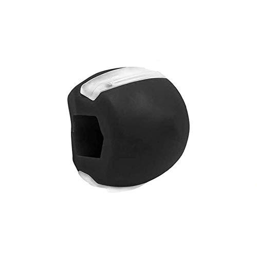 Jawliner Black, Übung Fitness Ball,Doppelkinn-Übungsgerät, jaw trainer jawliner wangenknochen trainer jawrsize (schwarz)
