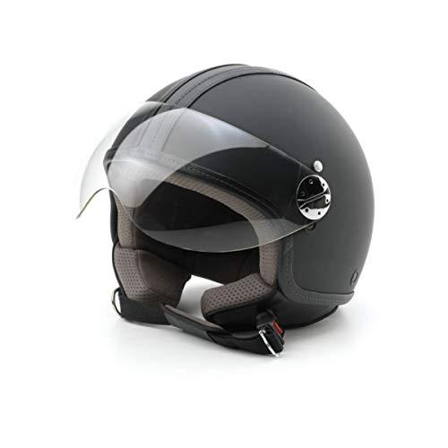 Bottari Moto 64652 Casque en Cuir, Noir, L