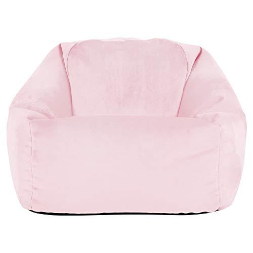 icon Aurora Velvet Kids Bean Bag Chair, Bean Bags for Children, Girls and Boys Kids Bean Bag Chair, Bedroom, Living Room