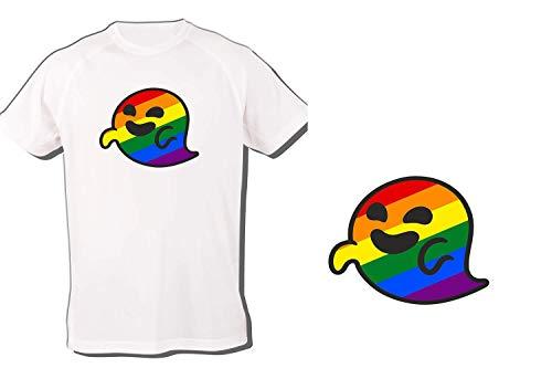 Tus Personalizables Camiseta GAYSPER Fantasma Gay VOX Tshirt (L)