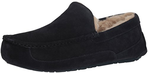 UGG Male Ascot Slipper, True Navy, 9 (UK)