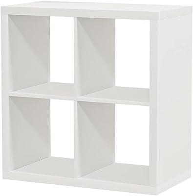 Ikea Étagère Kallax, Blanc, Parfaite comme paniers ou boîtes