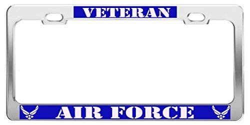 U.S Army Vietnam Veteran Auto Steel License Plate Frame Tag Holder STHANCAT OF TAMPA