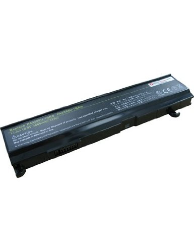 AboutBatteries Batterie pour Toshiba Satellite A100-543, 10.8V, 4400mAh, Li-ION