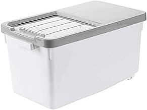 Nfudishpu Storage Box Kitchen Grain Storage Container Rice Nfudishpu Storage Box Plastic Seal Moisture Proof Thicken Cerea...