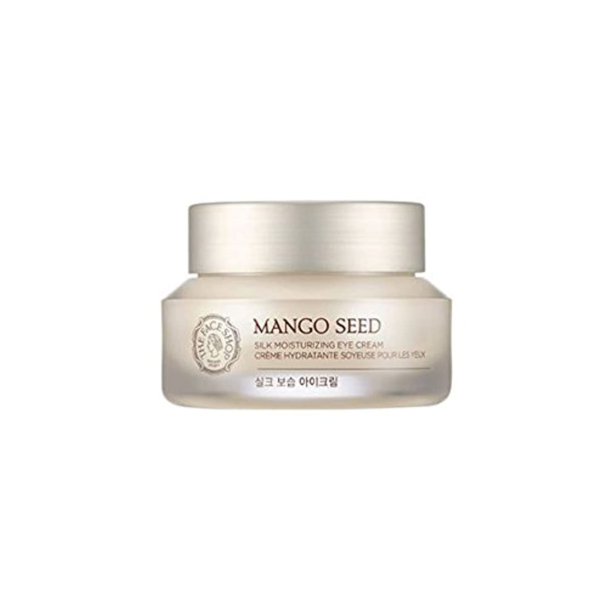 ビリー慎重に勧告[ザフェイスショップ] THE FACE SHOP マンゴシードシルク保湿アイクリーム (30ml) The Face Shop Mango Seed Silk Moisturizing Eye Cream(30ml) [海外直送品]