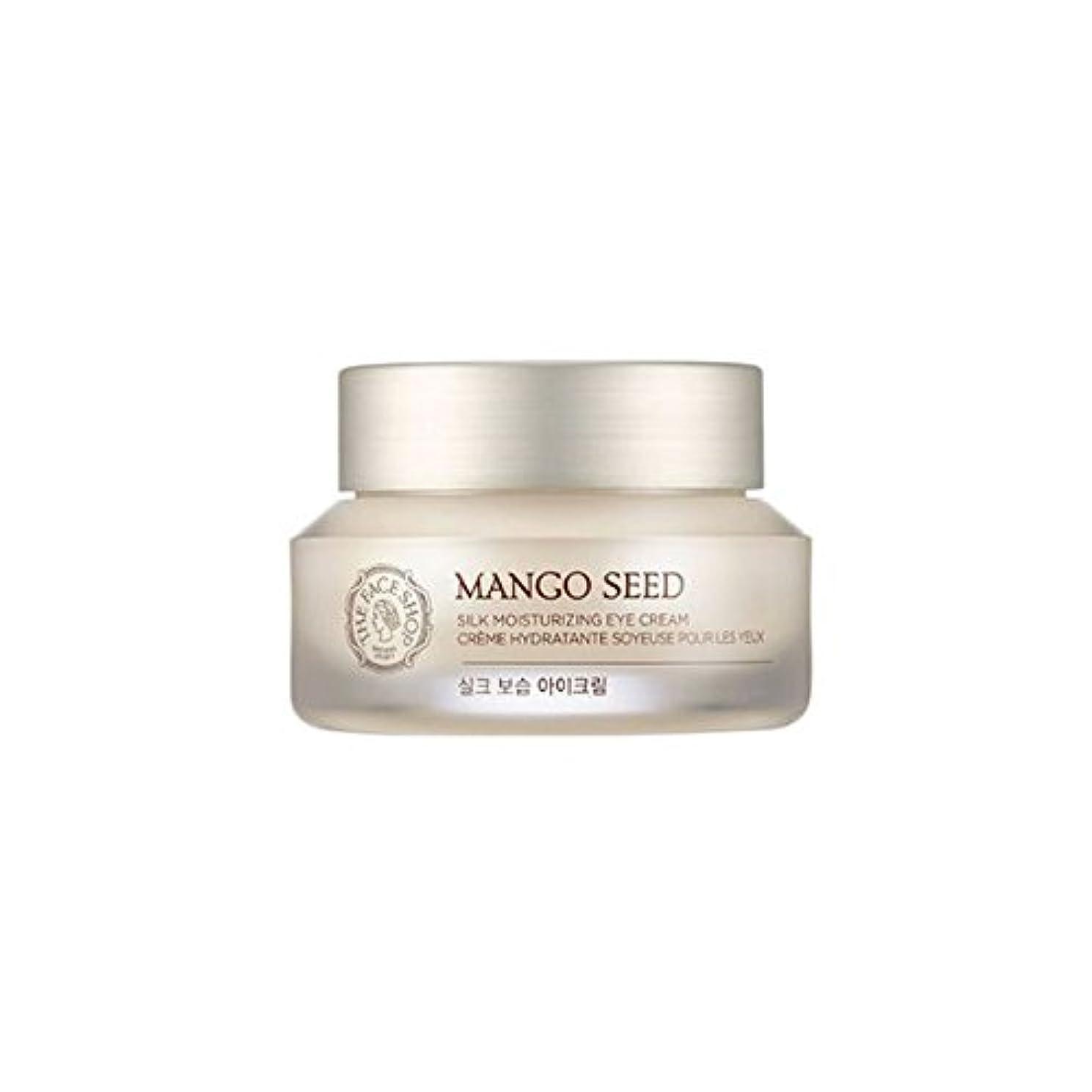植生に勝るスイング[ザフェイスショップ] THE FACE SHOP マンゴシードシルク保湿アイクリーム (30ml) The Face Shop Mango Seed Silk Moisturizing Eye Cream(30ml) [海外直送品]