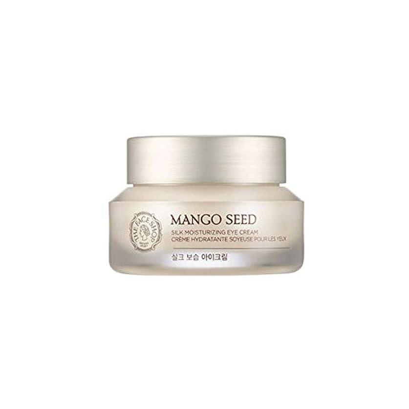 ソーダ水ルアー身元[ザフェイスショップ] THE FACE SHOP マンゴシードシルク保湿アイクリーム (30ml) The Face Shop Mango Seed Silk Moisturizing Eye Cream(30ml) [海外直送品]