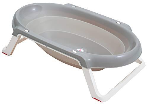 Tigex Baignoire pour Bébé, Pliable Ultra Compacte, 0-12 Mois (Max 15...