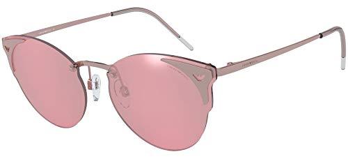 Emporio Armani 0EA2082 Gafas de sol, Rose Gold, 58 para Mujer