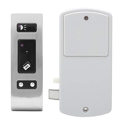 Cerradura electrónica inteligente para gabinete, desbloqueo de etiqueta EM, dispositivo de seguridad antirrobo para puerta de entrada inductiva sin llave