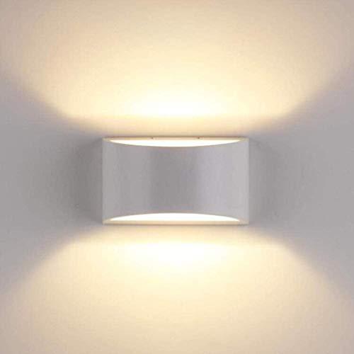 lámpara de pared 7W LED de luces de pared Motion Sensor inteligente moderno dormitorio pasillo lámpara de cabecera de la sala lámpara de pared lámpara de noche blanco caliente de 16 x 10 x 7,7 cm ilum