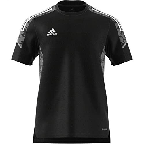 adidas GH7167 CON21 TR JSY T-Shirt Uomo Black/White M